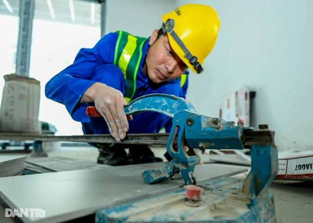 Ấn tượng cuộc thi làm thật, thi thật dành cho thợ giỏi ngành xây dựng - 4