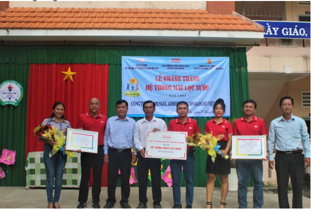Chung tay đưa nước sạch về với cộng đồng dân cư Đồng bằng sông Cửu Long - 1