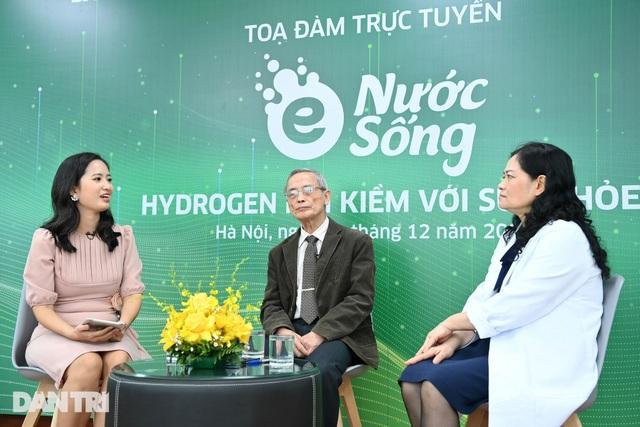 Tọa đàm trực tuyến: Nước hydrogen ion kiềm với sức khỏe - 3