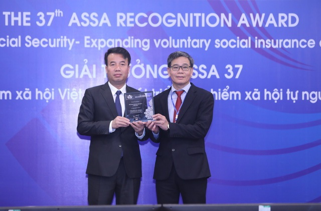 BHXH VN nhận giải thưởng về phát triển đối tượng tham gia BHXH tự nguyện - 2