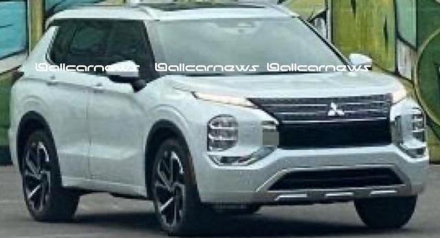Mitsubishi Outlander thế hệ mới dần lộ thiết kế - 1