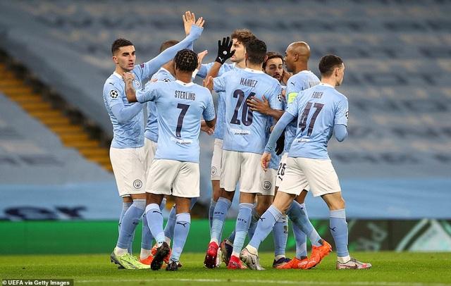 Man City giành số điểm cao nhất vòng bảng Champions League - 2