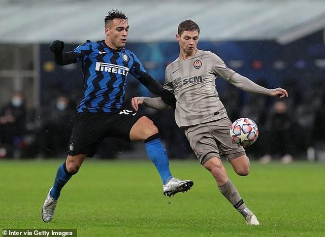 Hòa thất vọng Shakhtar Donestk, Inter Milan đứng cuối bảng - 1