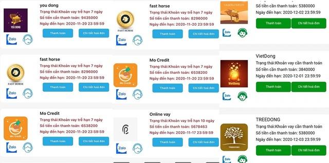 Quái chiêu hút máu của các app cho vay tiền cắt cổ con nợ - 1