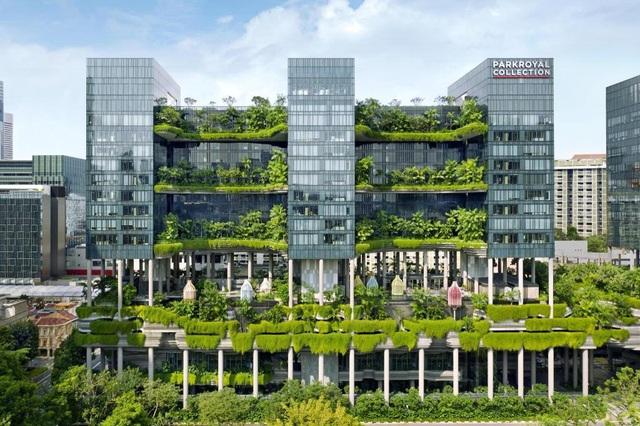 Vườn thẳng đứng: Xu hướng thiết kế xanh của tương lai - 2