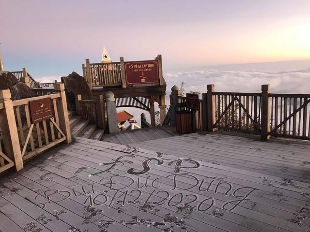 Sương muối lại phủ trắng Nóc nhà Việt Nam - 3