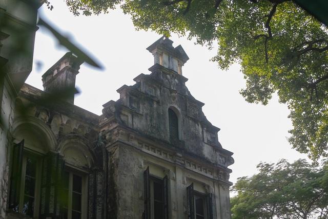 Chiêm ngưỡng dinh thự Pháp cổ từng là nơi ở của vua Bảo Đại tại Hà Nội - 4