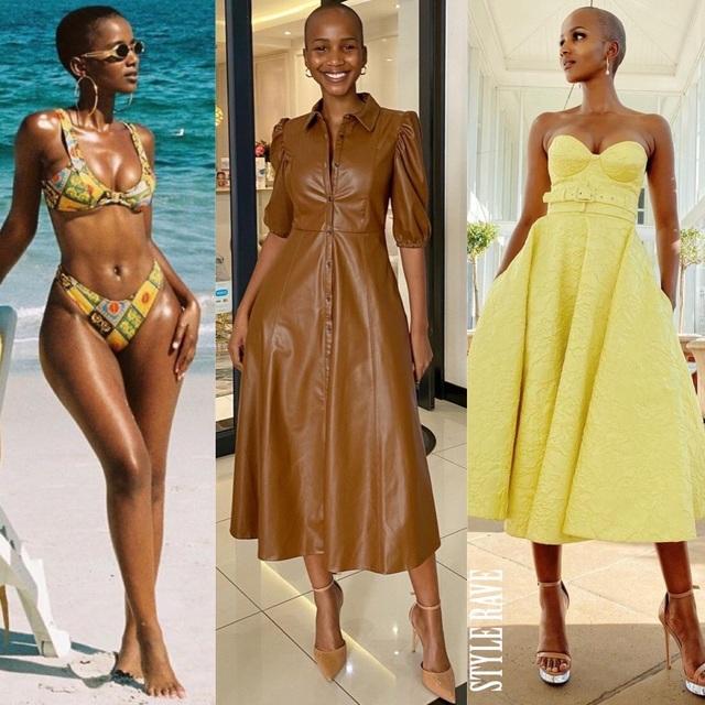 Nhan sắc cá tính của hoa hậu trọc đầu người Nam Phi - 8