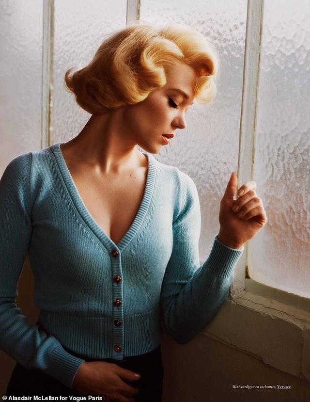 Nhan sắc Pháp hóa thân ngoạn mục thành biểu tượng gợi cảm Marilyn Monroe - 4