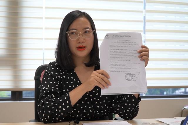 Nữ giám đốc môi giới học viên đến trường ĐH Đông Đô nói gì? - 4