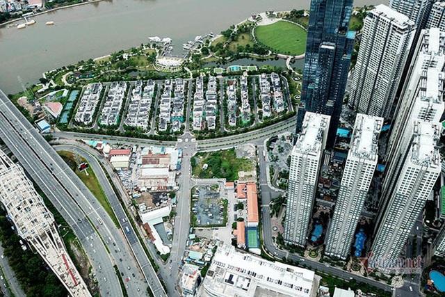Cận cảnh loạt chung cư cao cấp bóp nghẹt hơn 3 km đường ở TPHCM - 4