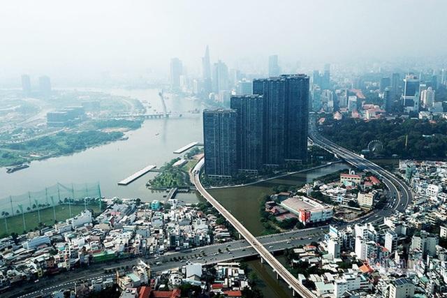 Cận cảnh loạt chung cư cao cấp bóp nghẹt hơn 3 km đường ở TPHCM - 6