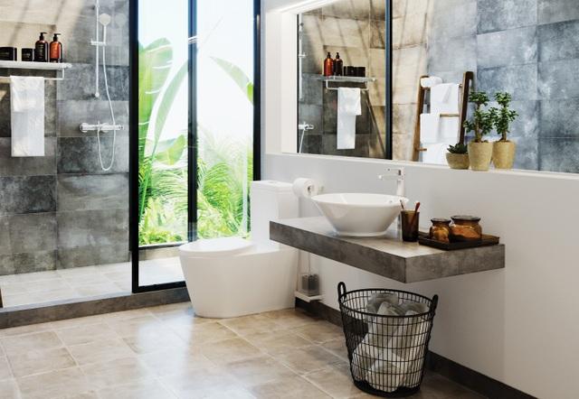 Mách bạn cách biến phòng tắm thành thiên đường thư giãn - 1