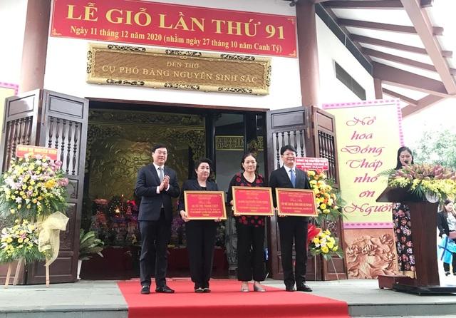 Long trọng lễ giỗ lần thứ 91 cụ Phó bảng Nguyễn Sinh Sắc - 2