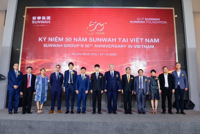 Tập đoàn Sunwah kỷ niệm 50 năm hoạt động tại Việt Nam và Khánh thành Trung tâm Đổi mới Sáng tạo Sunwah TP. Hồ Chí Minh - 1