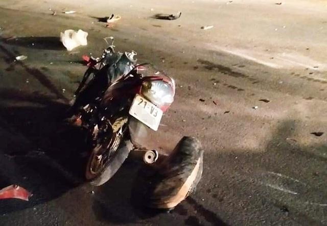 Truy tìm ô tô liên quan vụ tai nạn làm 2 thanh niên tử vong - 1