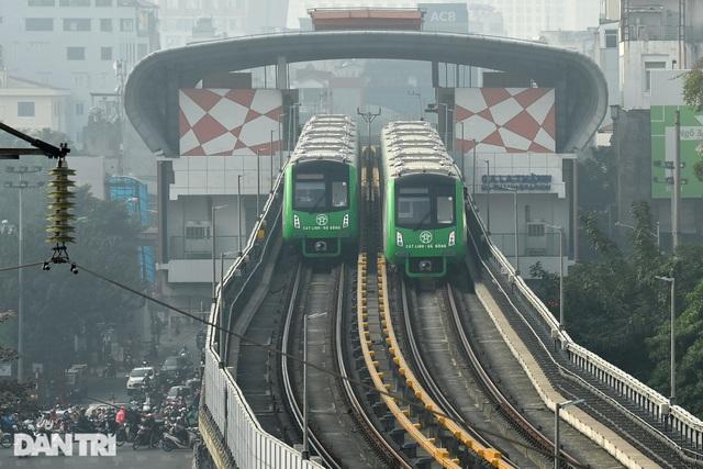 Chính thức vận hành thử nghiệm toàn hệ thống đường sắt Cát Linh - Hà Đông - 4