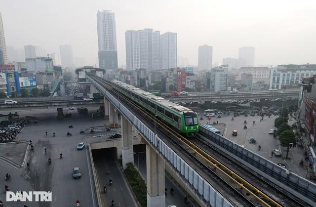 Chính thức vận hành thử nghiệm toàn hệ thống đường sắt Cát Linh - Hà Đông - 6