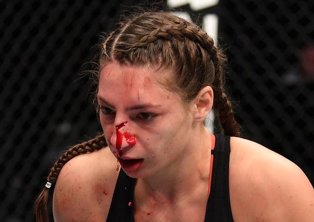 Ngắm vẻ đẹp nóng bỏng của đả nữ làng UFC - 1