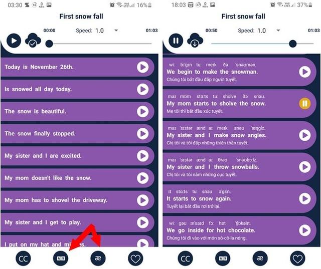 Hai ứng dụng hữu ích giúp nâng cao kỹ năng nghe và nói tiếng Anh - 4