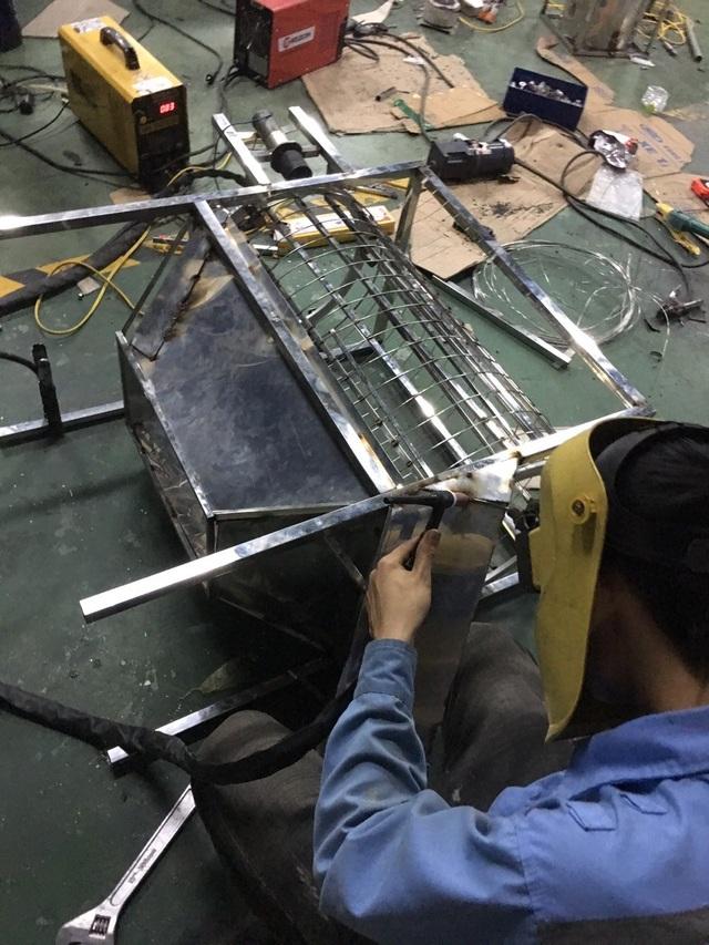 Máy phân loại rác của thầy trò trường nghề đạt giải ý tưởng khởi nghiệp - 2