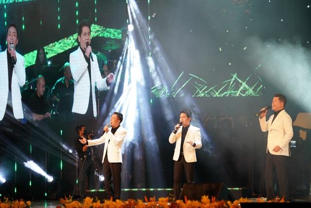 Diva Thanh Lam khác lạ khi hát cùng Trọng Tấn, Đăng Dương, Việt Hoàn - 2
