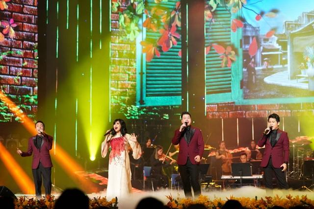 Diva Thanh Lam khác lạ khi hát cùng Trọng Tấn, Đăng Dương, Việt Hoàn - 6