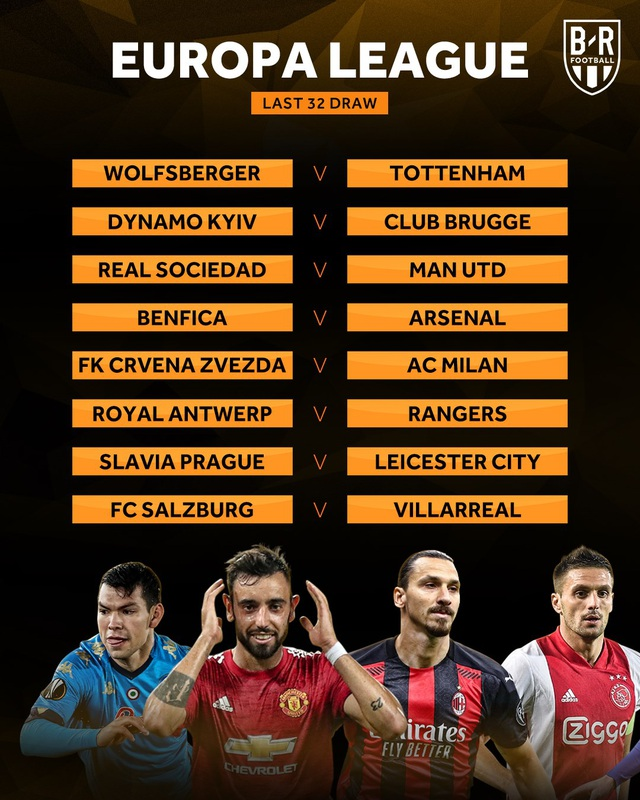 Man Utd, Arsenal gặp khó, Tottenham hưởng lợi ở Europa League - 1