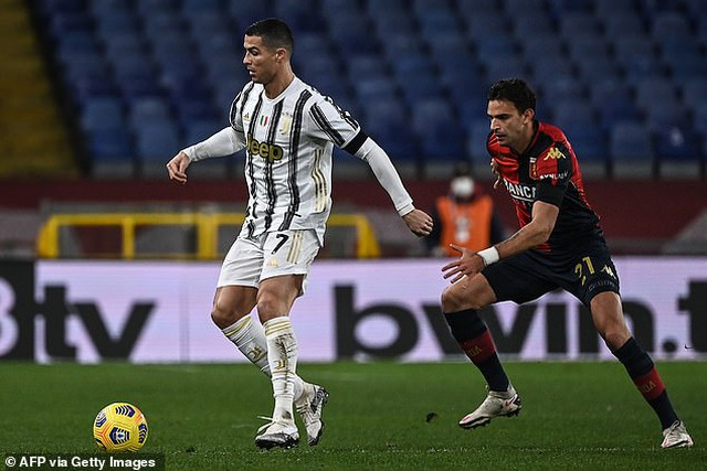 C.Ronaldo lập cú đúp trong ngày đặc biệt, giúp Juventus chiến thắng - 1