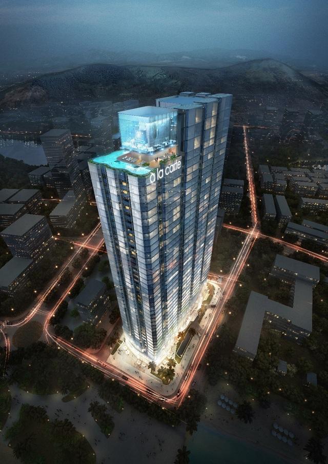 Chủ đầu tư TASECO Land sắp ra mắt tòa tháp khách sạn & căn hộ mặt Vịnh À La Carte Halong Bay