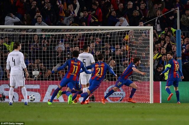 Barcelona đối đầu PSG ở vòng 1/8 Champions League - 2