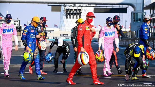 Mùa giải F1 2020 khép lại bằng một chặng đua kém nhiệt - 12