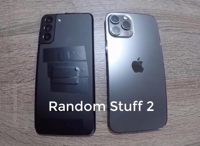 Chưa ra mắt, Galaxy S21+ đã bị lộ video so sánh với iPhone 12 Pro Max - 1