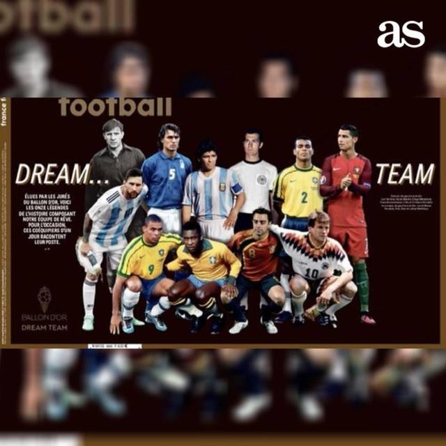 Messi sát cánh cùng Maradona ở đội hình xuất sắc nhất lịch sử - 1