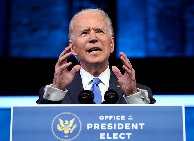 Ông Biden cam kết làm việc chăm chỉ để phụng sự nước Mỹ - 1