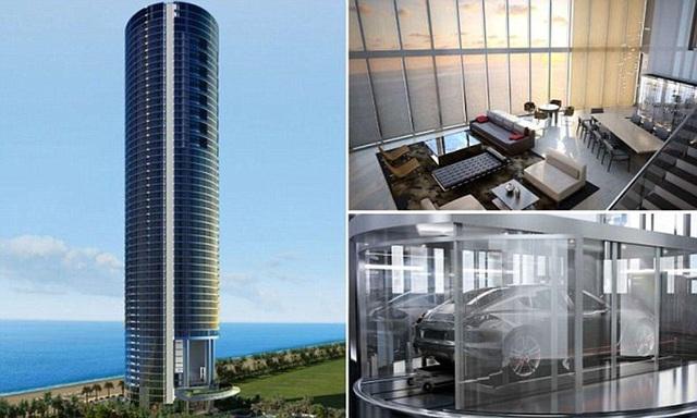 Choáng ngợp chung cư triệu đô, có cả thang máy đưa ô tô lên tận căn hộ - 6