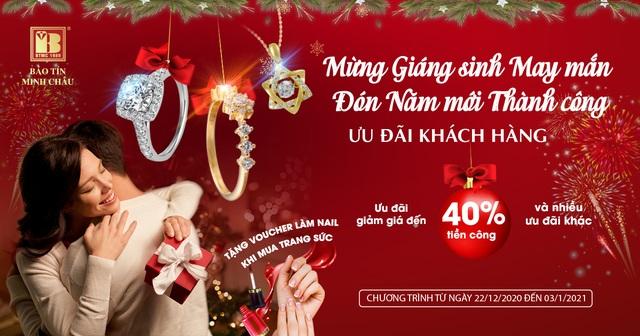 Trang sức Bảo Tín Minh Châu Mừng Giáng sinh may mắn, đón năm mới thành công - 6