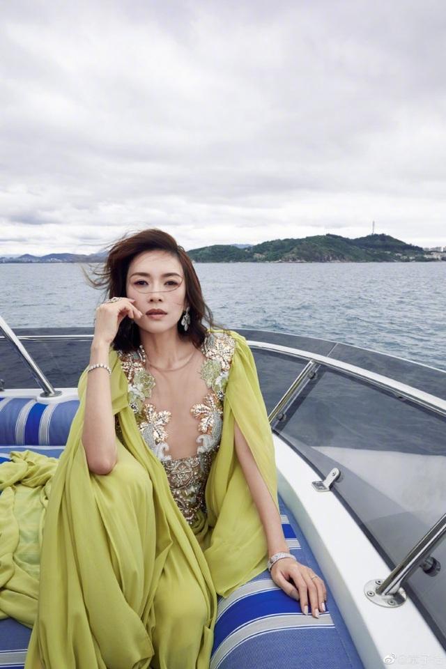 Chương Tử Di tái hợp với đạo diễn Trương Nghệ Mưu - 2