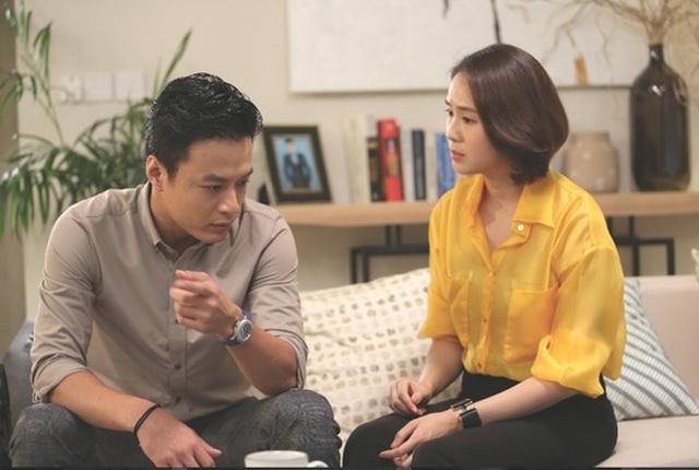 Hồng Diễm: Tôi diễn cảnh yêu với Hồng Đăng dễ hơn người khác - 1