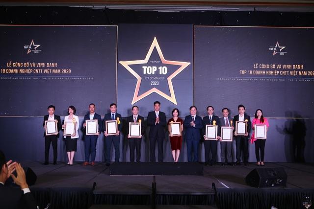 Danh sách Top 10 doanh nghiệp CNTT Việt Nam 2020 - 1