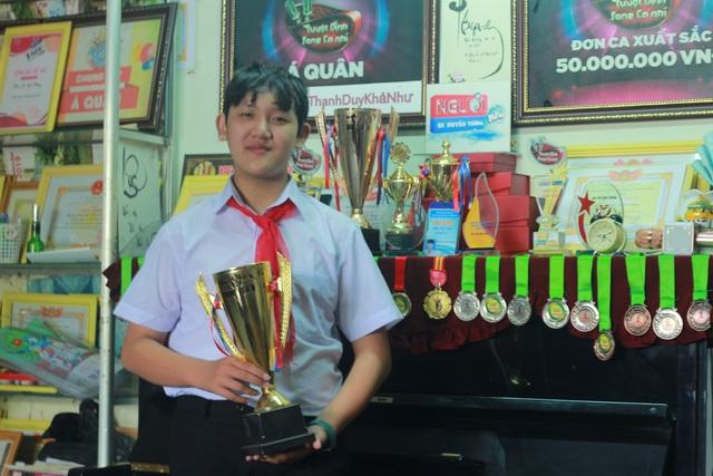 Cậu học sinh phố núi giành nhiều giải thưởng về âm nhạc - 3