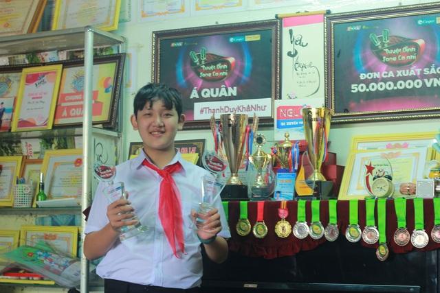Cậu học sinh phố núi giành nhiều giải thưởng về âm nhạc - 2