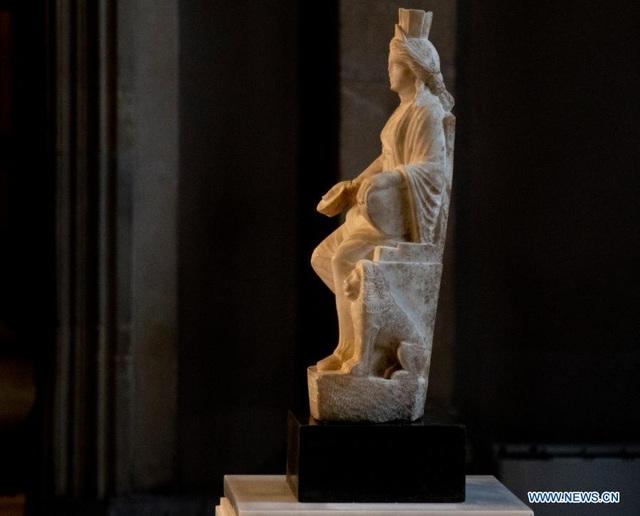 Bức tượng Cybele 1.700 năm tuổi trở lại Thổ Nhĩ Kỳ sau 60 năm - 1