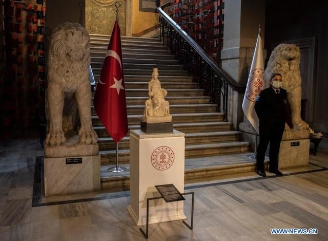 Bức tượng Cybele 1.700 năm tuổi trở lại Thổ Nhĩ Kỳ sau 60 năm - 2