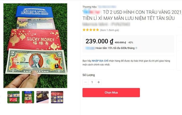 Cầu may bằng hàng ngoại: Đổi 300.000 đồng lấy tờ 2 USD in hình trâu - 2
