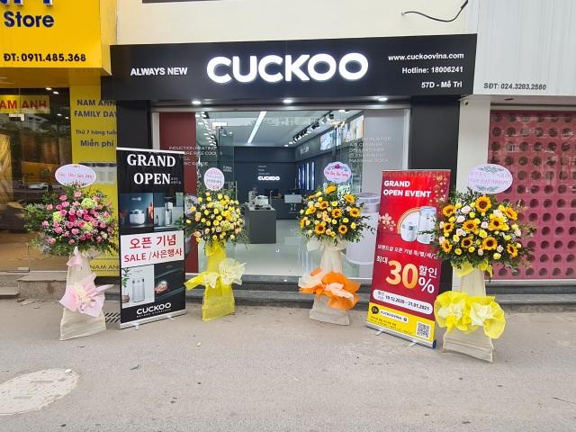Mua hàng chính hãng và hưởng hậu mãi tại showroom Cuckoo Hà Nội - 1