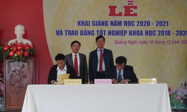 Trường nghề ký kết cung ứng 15.000 lao động cho doanh nghiệp - 3