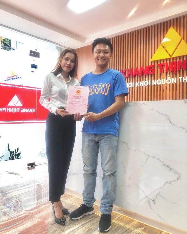 Công ty Khang Thịnh Phát giao hàng loạt sổ hồng tại các khu dân cư cho khách hàng - 2