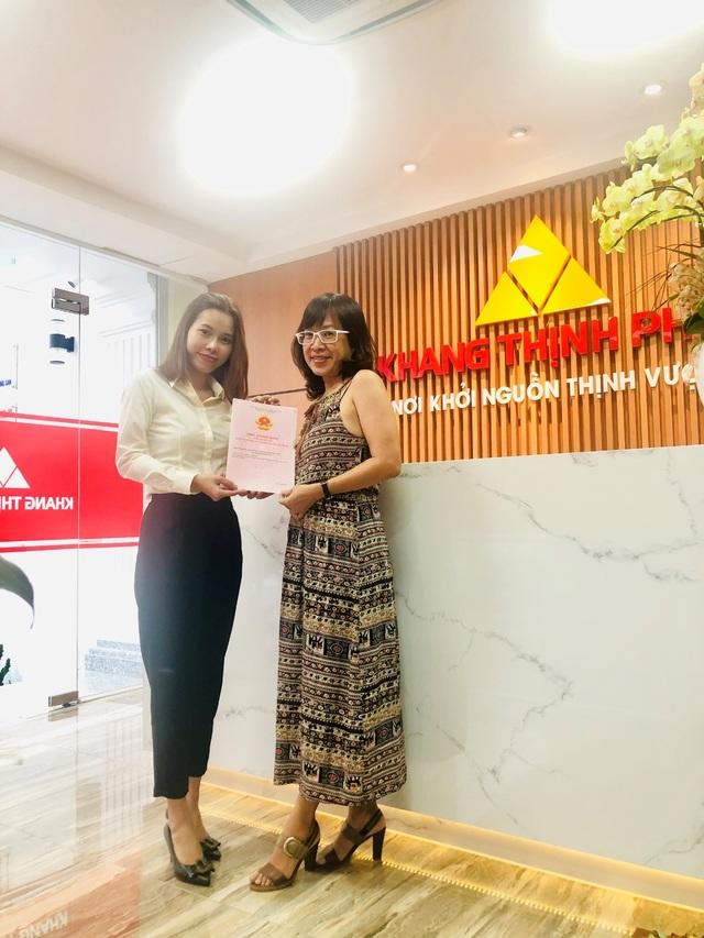 Công ty Khang Thịnh Phát giao hàng loạt sổ hồng tại các khu dân cư cho khách hàng - 4