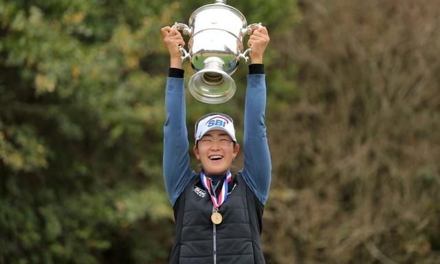 Tay golf nữ Hàn Quốc hạng xoàng thế giới bất ngờ vô địch US Womens Open - 1